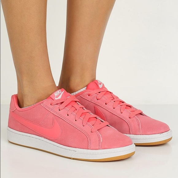 5280657b2aa892 New Nike Court Royale Suede Sneakers